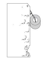 Odbojnica Cylindryczna przykład mocowania