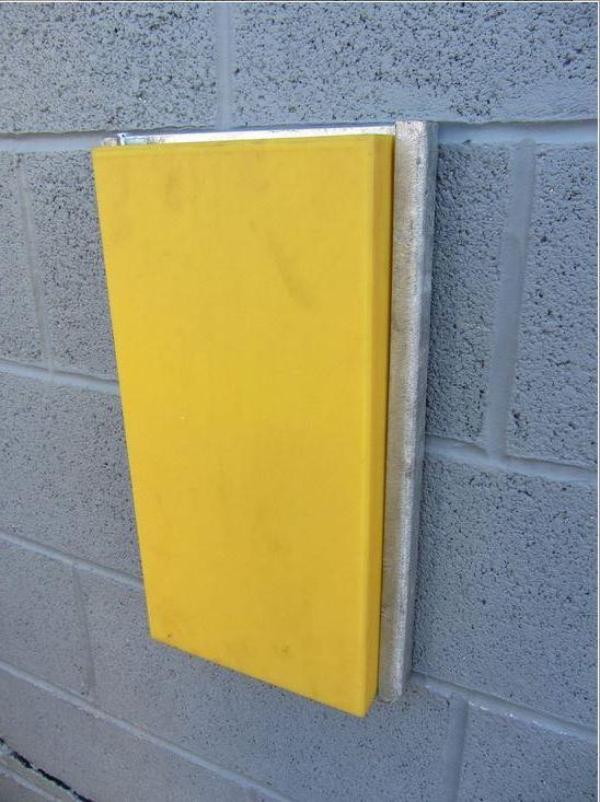Płaski Żółty Odbój Rampowy R007