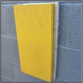Żółta Płaska Odbojnica Rampowa R007